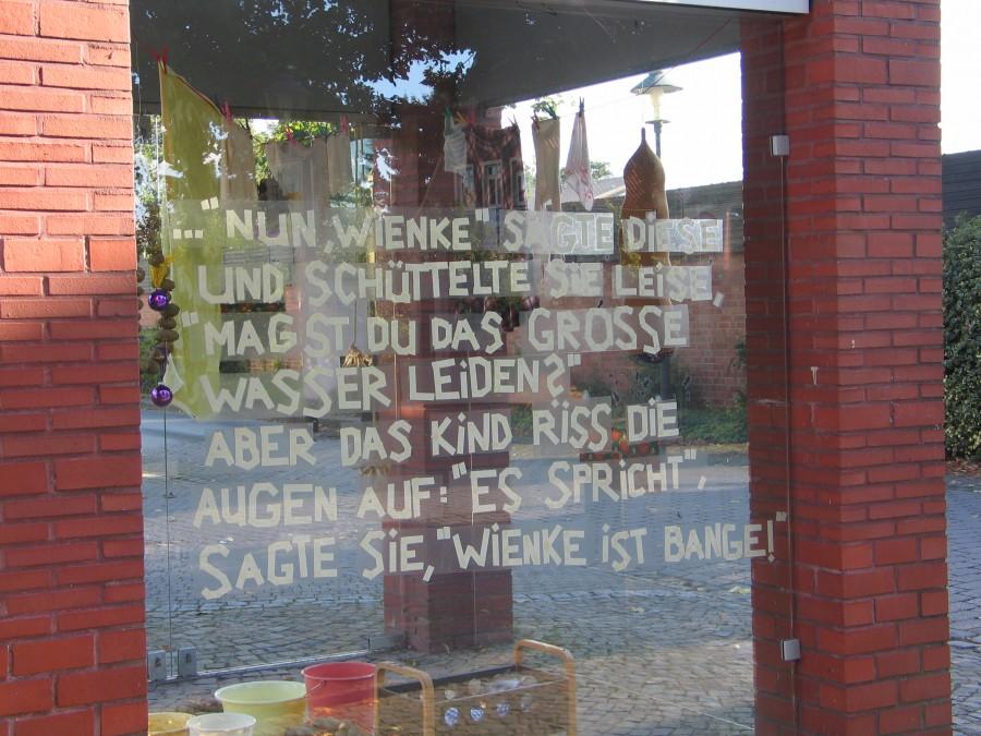 """Wiebke Bartsch, """"Norden"""", Installation"""