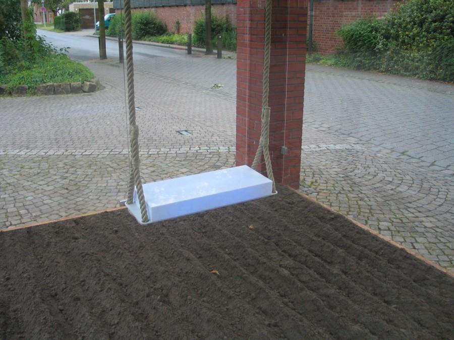 """Kirsten Kaiser,""""Weites Feld"""", Installation im 15-min-Takt"""